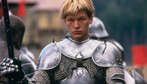Image of actress playing Joan of Arc